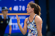Patty Schnyder of Switzerland in action during the first qualification round at the 2018 US Open Grand Slam tennis tournament, New York, USA, August 21th 2018, Photo Rob Prange / SpainProSportsImages / DPPI / ProSportsImages / DPPI