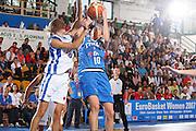 DESCRIZIONE : Chieti Italy Italia Eurobasket Women 2007 Grecia Italia Greece Italy <br /> GIOCATORE : Laura Macchi Tifosi Supporters <br /> SQUADRA : Nazionale Italia Donne Femminile <br /> EVENTO : Eurobasket Women 2007 Campionati Europei Donne 2007<br /> GARA : Grecia Italia Greece Italy <br /> DATA : 25/09/2007 <br /> CATEGORIA : Tiro <br /> SPORT : Pallacanestro <br /> AUTORE : Agenzia Ciamillo-Castoria/S.Silvestri <br /> Galleria : Eurobasket Women 2007 <br /> Fotonotizia : Chieti Italy Italia Eurobasket Women 2007 Grecia Italia Greece Italy <br /> Predefinita :
