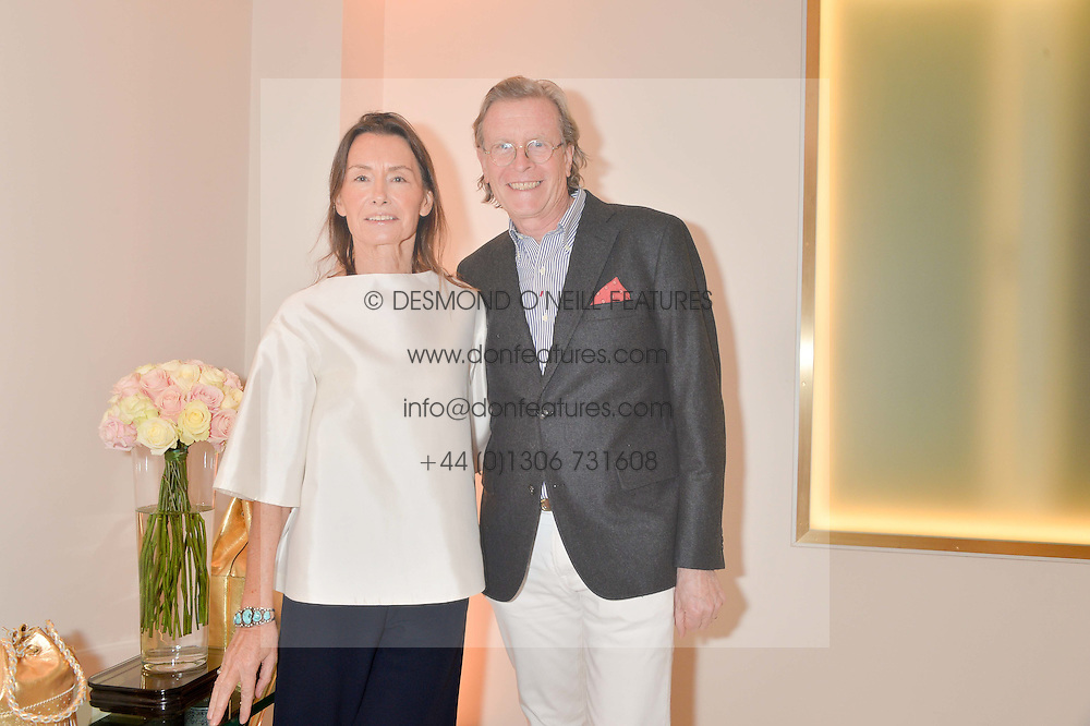 JOHN & MONIQUE DAVIDSON at the launch of the new J&M Davidson flagship shop at 104 Mount Street, London on 3rd February 2016.