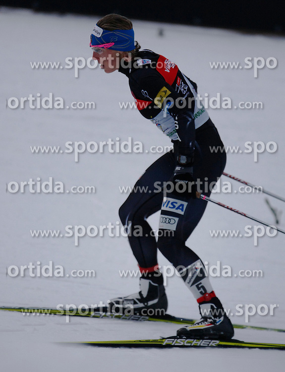 03.01.2013, Nordische Arena, Toblach, ITA, FIS Langlauf Weltcup, Tour de Ski 2013, Damen, 15km Verfolgung, im Bild Kikkan Randall // during Ladies 15 km Free Pursuit of the Tour de Ski 2013 of the FIS cross country world cup at nordic arena in Dobiacco, Italy on 2013/01/03. EXPA Pictures © 2013, PhotoCredit: EXPA/ Newspix/ Irek Dorozanski..***** ATTENTION - for AUT, SLO, CRO, SRB, BIH, TUR, SUI and SWE only *****