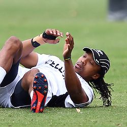 DURBAN, SOUTH AFRICA, 17 November 2015 - Odwa Ndungane during The Pre-season training squad and coaching team announcement at Growthpoint Kings Park in Durban, South Africa. (Photo by Steve Haag)<br /> images for social media must have consent from Steve Haag