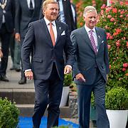 NLD/Terneuzen/20190831 - Start viering 75 jaar vrijheid, aankomst Willem-Alexander en Fllip