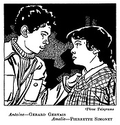 Three Telegrams : Gerard Gervais and Pierrette Simonet..