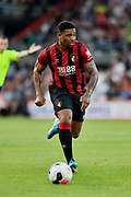 Jordon Ibe (10) of AFC Bournemouth *** during the Pre-Season Friendly match between Bournemouth and SS Lazio at the Vitality Stadium, Bournemouth, England on 2 August 2019.