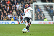 Derby County midfielder George Thorne during the Sky Bet Championship match between Derby County and Nottingham Forest at the iPro Stadium, Derby, England on 19 March 2016. Photo by Jon Hobley.