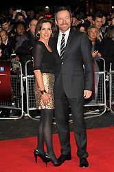 Bryan Cranston with his wife Robin Dearden arrive for the 56th BFI London Film Festival: Argo - Accenture gala held at the Odeon, Leicester Square, London, England, October 17, 2012. Photo by Chris Joseph / i-Images. ..