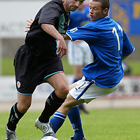 St Johnstone v Leicester City..24.07.04 (Friendly) <br />