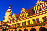 Altes Rathaus (Old City Hall), Markt (Market Square), Leipzig, Saxony, Germany