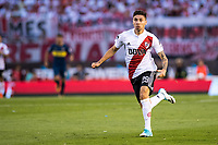 BUENOS AIRES, ARGENTINA - 2017 NOVEMBER 05. River Plate (29) Gonzalo Montiel during the superliga Argentina match between River Plate and Boca Juniors at Estadio El Monumental,  <br /> ( Photo by Sebastian Frej )