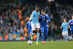 15.03.2016, Etihad Stadium, Manchester, ENG, UEFA CL, Manchester City vs Dynamo Kiew, Achtelfinale, Rueckspiel, im Bild toure yaya, veloso miguel // during the UEFA Champions League Round of 16, 2nd Leg match between Manchester City and FC Dynamo Kyiv at the Etihad Stadium in Manchester, Great Britain on 2016/03/15. EXPA Pictures © 2016, PhotoCredit: EXPA/ Pressesports/ MARTIN RICHARD<br /> <br /> *****ATTENTION - for AUT, SLO, CRO, SRB, BIH, MAZ, POL only*****