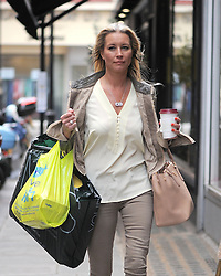Denise Van Outen out shopping in the West End before going to Magic FM radio station. UK. 09/05/2013<br />BYLINE MUST READ : GOTCHAIMAGES.COM<br /><br />Copyright by © Gotcha Images Ltd. All rights reserved.<br />Usage of this image is conditional upon the acceptance <br />of Gotcha Images Ltd, terms and conditions available at<br />www.gotchaimages.com