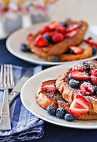 Decadent French Toast<br /> Food and Prop Styling by Melissa H. Schenker/Foodie for Two