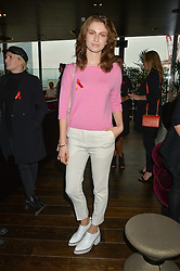 TALI LENNOX at the mothers2mothers World AIDS Day VIP Lunch with Next Management & THE OUTNET.COM held at Mondrian London, 19 Upper Ground, London on 1st December 2014.