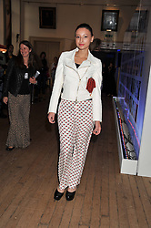 LEAH WELLER at the Vogue Festival 2012 in association with Vertu held at the Royal Geographical Society, London on 20th April 2012.