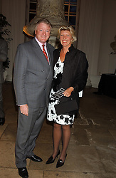 NICK BONHAM and his wife SUE at a evening to celebrate the unveiling of the British Luxury Club at The Orangery, Kensington Palace, London W8 on 16th September 2004.<br /><br />NON EXCLUSIVE - WORLD RIGHTS