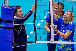 26-08-2017 NED: World Qualifications Netherlands - Slovenia, Rotterdam<br /> De Nederlandse volleybalsters plaatsten zich eenvoudig voor het WK volgend jaar in Japan. Ook Sloveni&euml; wordt met 3-0 verslagen / Eva Mori #1 of Slovenia