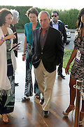 Water Mill, New York: Former New York City Mayor Michael Bloomberg attend the RUSH Philanthropic Arts Foundation 15th Annual Art For Life Benefit Gala held in the Hamptons at the Farmview Farms on July 26, 2014  in Water Mill, New York. (Terrence Jennings)