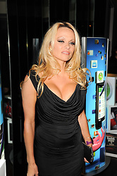 PAMELA ANDERSON at the premiere of Nokia's N8 short film 'The Commuter' held at Aqua, 30 Argyll Street, London on 25th October 2010.