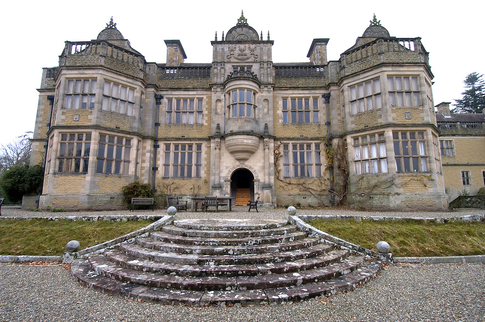 Stokesay Court, Shropshire, location for the film Atonement starring Kiera Knightley and James McAvoy