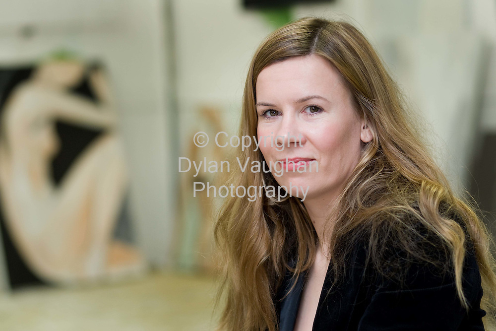 20/3/2008.Jane Ryan artist and fashion designer pictured at her studio in Clonmel..Picture Dylan Vaughan.