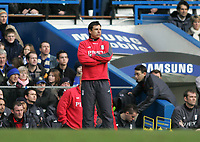 Photo: Lee Earle.<br /> Chelsea v Fulham. The Barclays Premiership. 26/12/2005. Fulham manager Chris Coleman.