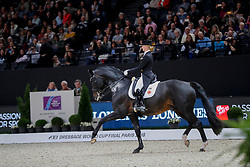 Von Bredow-Werndl Jessica, GER, Unee BB<br /> LONGINES FEI World Cup™ Finals Paris 2018<br /> © Hippo Foto - Dirk Caremans<br /> 14/04/18