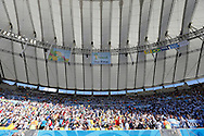 A general view of the Maracana Stadium during the 2014 FIFA World Cup Final.<br /> Picture by Andrew Tobin/Focus Images Ltd +44 7710 761829<br /> 13/07/2014