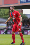 John McCoombe during the Pre-Season Friendly match between York City and Newcastle United at Bootham Crescent, York, England on 29 July 2015. Photo by Simon Davies.