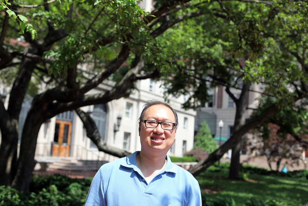"Chien-Li Chung '91 Engineering '90 Business '98..""Find your niche in the school, socially and academically."""