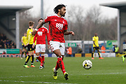 Nottingham Forest defender Armand Traore (6)  during the EFL Sky Bet Championship match between Burton Albion and Nottingham Forest at the Pirelli Stadium, Burton upon Trent, England on 11 March 2017. Photo by Richard Holmes.