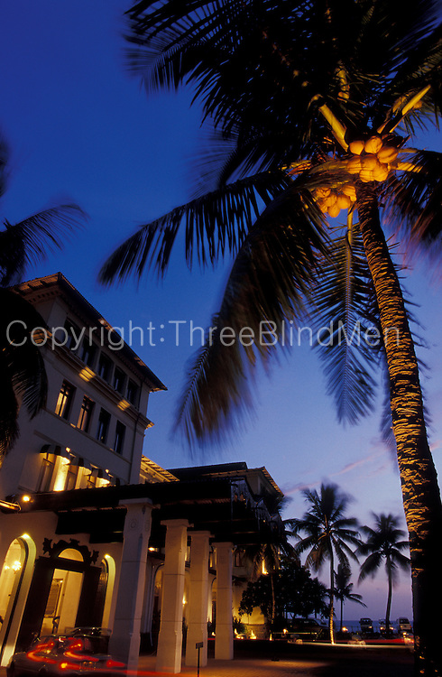 The Galle Face Hotel, Colombo. at dusk