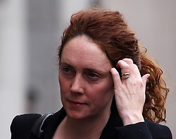Rebekah Brooks arrives at the Old Bailey for her trial Friday March 8, 2013. Photo by Max Nash / i-Images...Contact..Andrew Parsons: 00447545 311662.Stephen Lock: 00447860204379