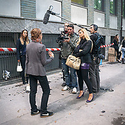 Intervista televisiva<br /> <br /> Television Interview