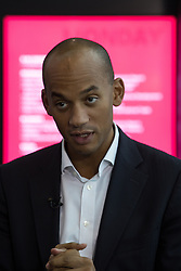 © Licensed to London News Pictures . 26/09/2016 . Liverpool , UK . CHUKA UMUNNA at the conference . The second day of the Labour Party Conference at the ACC Liverpool . Photo credit : Joel Goodman/LNP