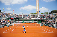 Illustration Court 1 - 27.05.2015 - Jour 4 - Roland Garros 2015<br />