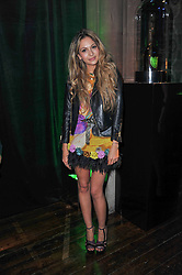 ZARA MARTIN at a party to launch the Dom Perignon Luminous label held at No.1 Mayfair, London on 24th May 2011.