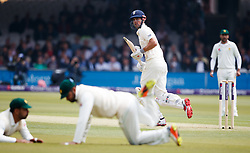 England's Alastair Cook during day one of the First NatWest Test Series match at Lord's, London.