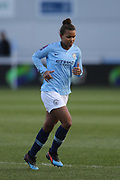 Manchester City Women's forward Nikita Parris (17) during the FA Women's Super League match between Manchester City Women and Brighton and Hove Albion Women at the Sport City Academy Stadium, Manchester, United Kingdom on 27 January 2019.