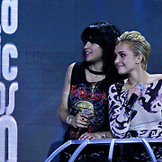 MON/Monte Carlo/20100512 - World Music Awards 2010, Michelle Rodriquez en Hayden Panettierre