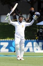 Wellington-Cricket, New Zealand v Sri Lanka, 2nd test, day 2