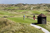 NOORDWIJK - Tee van Hole 1 van de Noordwijkse Golfclub GC. COPYRIGHT KOEN SUYK