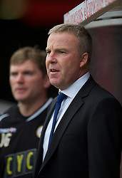 BRISTOL, ENGLAND - Saturday, August 7, 2010: Millwall's Kenny Jackett Coppell during the 3-0 League Championship victory over Bristol City at Ashton Gate. (Pic by: David Rawcliffe/Propaganda)