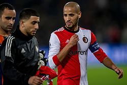 17-10-2017 NED, UEFA CL, Feyenoord - FC Shakhtar Donetsk, Rotterdam<br /> UEFA Champions League Round of 16, 3rd Leg match between Feyenoord vs. Donetsk at the stadion DE Kuip in Rotterdam / Karim El Ahmadi #8 of Feyenoord