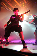 Killswitch Engage performing with Phil Labonte of All That Remains at the Pageant in St. Louis on March 15, 2010.
