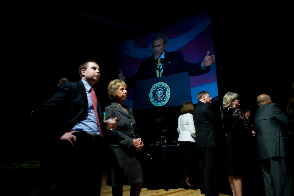 President George W. Bush makes remarks at the Republican National Committee Presidential Gala in Washington, DC, on Thursday, May 10, 2007.