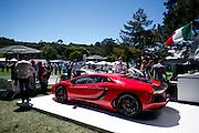 August 2014: Pebble Beach Concours. Lamborghini Aventador