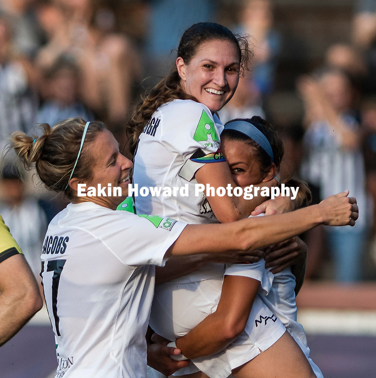 The Women's Asheville City Soccer Club tied Charlotte Eagles 2-2  in Memorial Stadium in Asheville, NC on June 29, 2018. This was Pride Night.