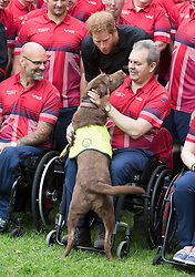 Prince Harry attends launch of UK Team for Invictus Games Toronto 2017 at Tower of London in London on 30 May 2017.<br />