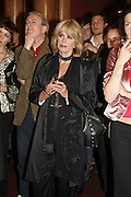 JOANNA LUMLEY, Vanessa Redgrave and Thelma Holt host a reception at the<br />Theatre Museum in Russell Street (in Covent Garden) to campaign proposed move of museum out of the West End. Tuesday 16 May 2006ONE TIME USE ONLY - DO NOT ARCHIVE  © Copyright Photograph by Dafydd Jones 66 Stockwell Park Rd. London SW9 0DA Tel 020 7733 0108 www.dafjones.com