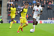 Burton Albion midfielder Joe Sbarra during the EFL Sky Bet League 1 match between Milton Keynes Dons and Burton Albion at stadium:mk, Milton Keynes, England on 5 October 2019.